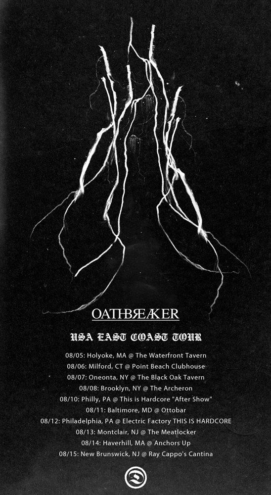 Oathbreaker 2012 US Tour