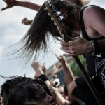 Betraying The Martyrs - band live at Mayhem Fest 2012 Camden, NJ