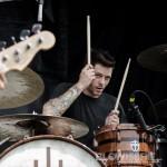 The Devil Wears Prada - band live at Mayhem Fest 2012 Camden, NJ