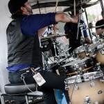 Upon A Burning Body - band live at Mayhem Fest 2012 Camden, NJ