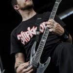 Whitechapel - band live at Mayhem Fest 2012 Camden, NJ
