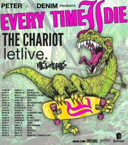 Every Time I Die and The Chariot US Tour 2012