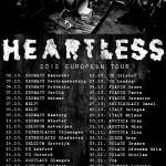 Heartless 2012 European Tour