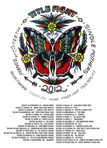 Title Fight and Pianos Become The Teeth Tour 2012