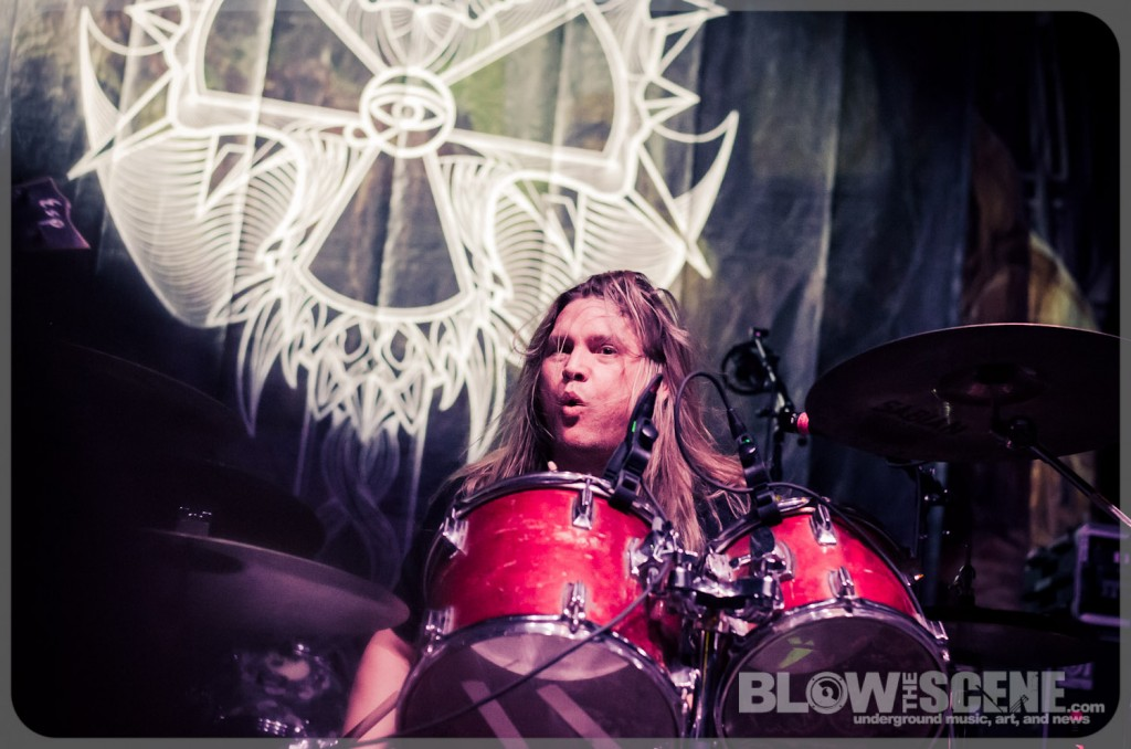 Corrosion of Conformity - Reed Mullin on Drums