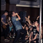 Silverstein - band live at First Unitarian in Philadelphia August 2012