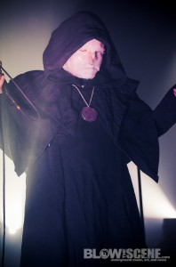 Sunn O))) band live in Philadelphia at The Union Transfer