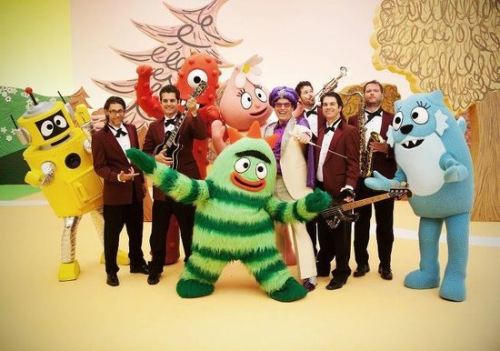 Rocket From The Crypt on Yo Gabba Gabba TV Show