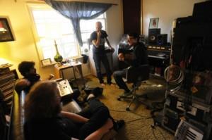MAKE - band in studio