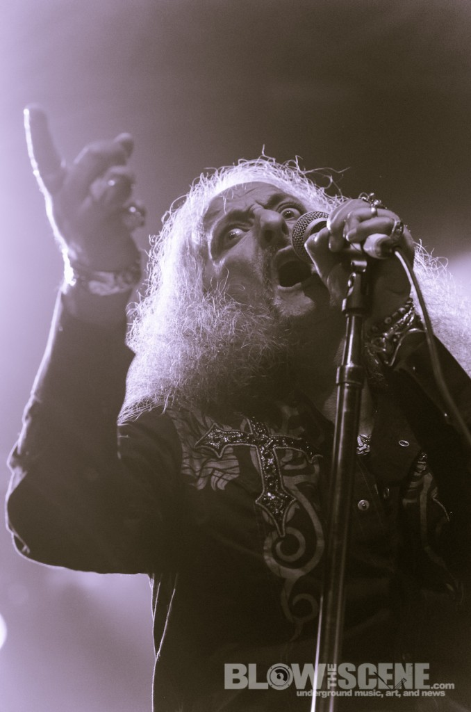 Pentagram -band live at Electric Factory in Philly September 2012