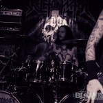 Skeletonwitch - band live at The Barbary Philadelphia, PA