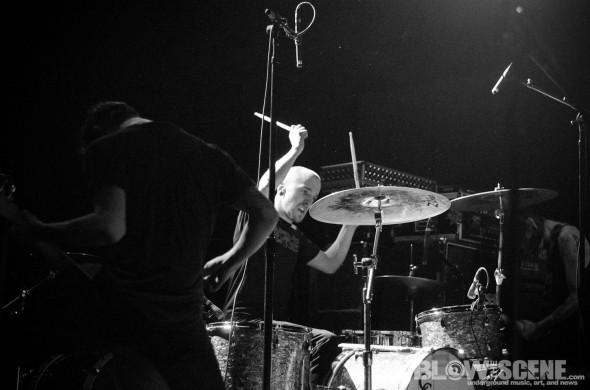 Birds In Row band live in Philadelphia 2012