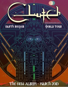 Clutch Earth Rocker World Tour