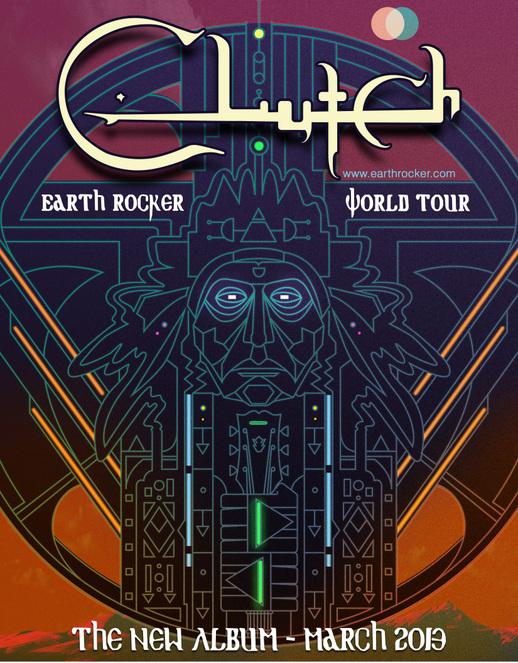 clutch Tour Dates - The Gauntlet Concerts