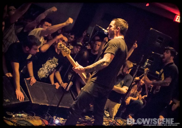 Old Man Gloom band live in Philly 2012