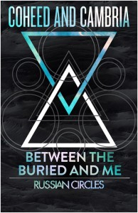 Coheed and Cambria with Between The Buried and Me 2013 US Tour