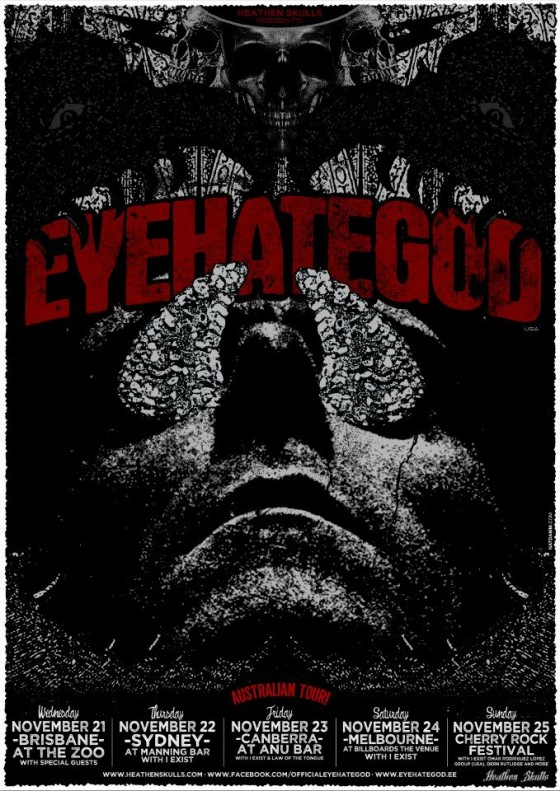 Eyehategod Australian Tour 2012