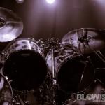 Hellyeah Vinnie Pault Drum Kit at Electric Factory in Philadelphia