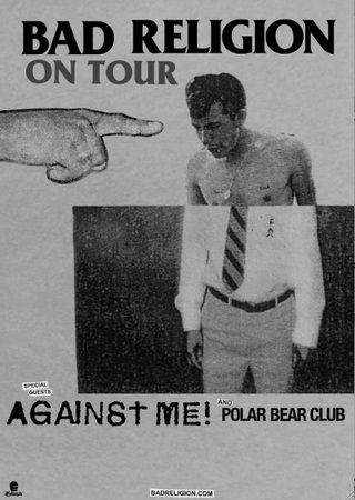 Bad Religion, Against Me, Polar Bear Club Tour
