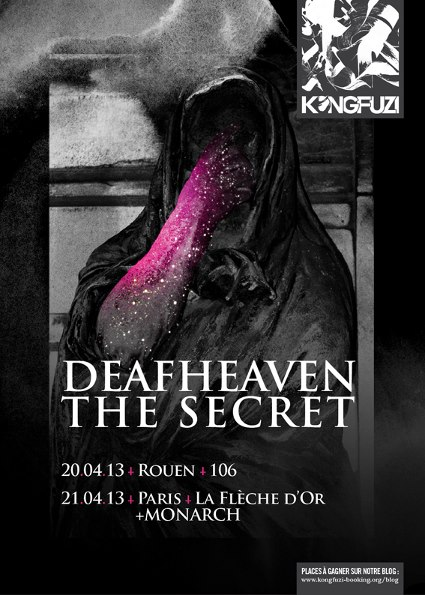 Deafheaven and The Secret France Shows 2013