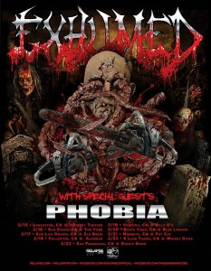 Exhumed Phobia Tour