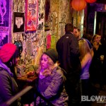 punx pcinic art show at Tattooed Moms