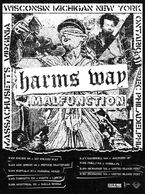 Harm's Way and Malfunction Tour