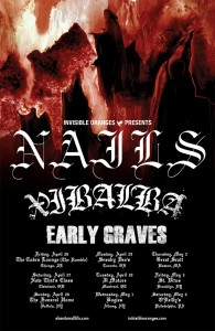 Nails US Tour