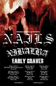 Nails US Tour