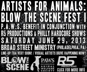 Artists For Animals Blow The Scene Fest I
