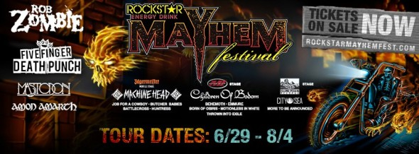 mayhem fest 2013 announces roster with mastodon behemoth rob zombie ffdp amon amarth. Black Bedroom Furniture Sets. Home Design Ideas