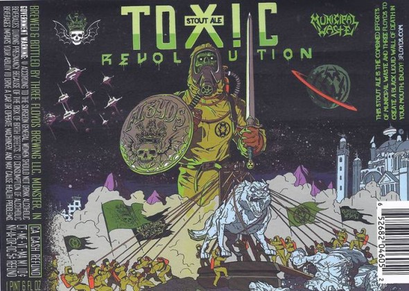 Municipal Waste Beer Toxic Revolution
