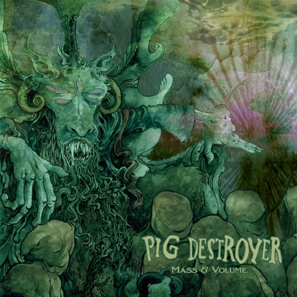 pig destroyer mass & volume EP