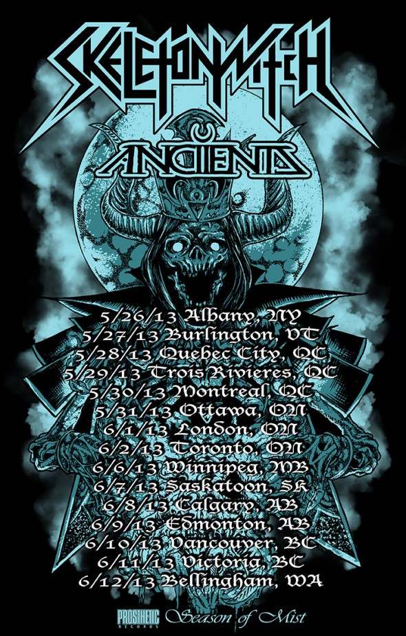 Skeletonwitch, Ancients tour
