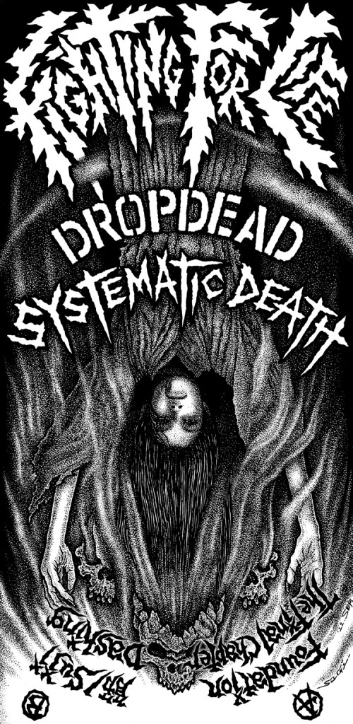 Dropdead Systematic Death Split Cover