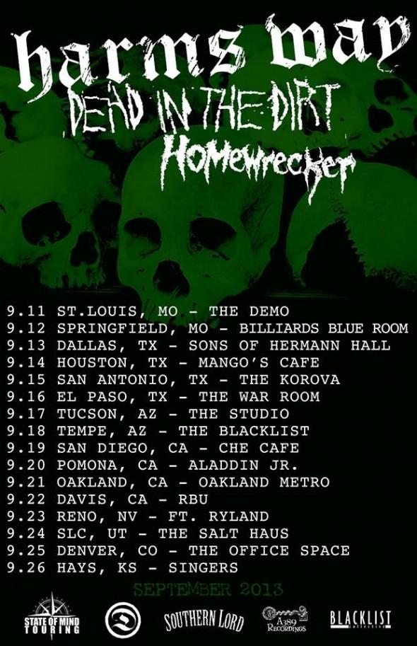 homewrecker-DITD-harms-way-tour-2013