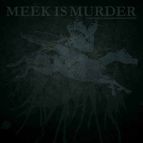 meek-is-murder-lp-cover