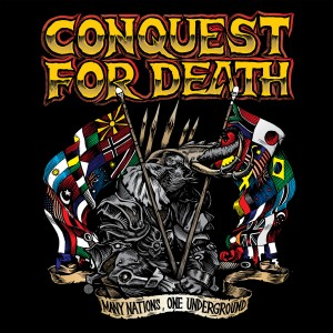 conquest for death - many nations, one underground LP