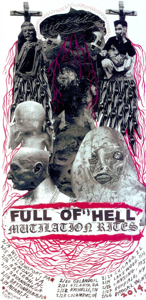 full of hell mutilation rites tour
