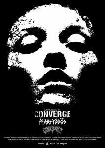 converge and martyrdod euro tour