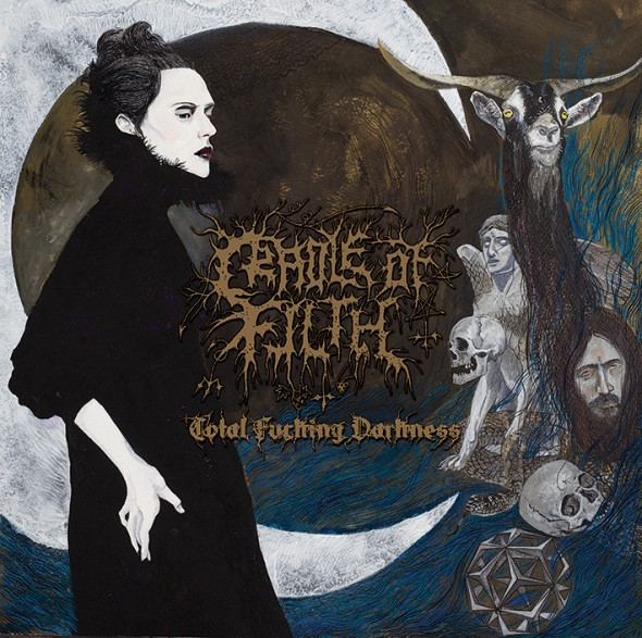 cradle of filth - total fucking darkness LP