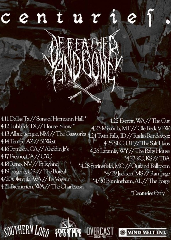 Centuries and Of Feather and Bone Tour