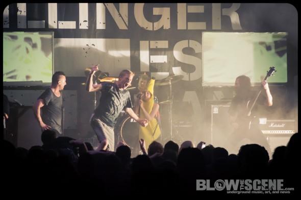 The Dillinger Escape Plan - live at Union Transfer Philadelphia