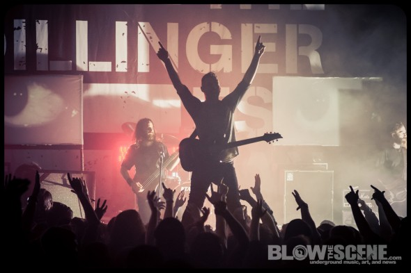 The Dillinger Escape Plan - live at Union Transfer Philadelphia