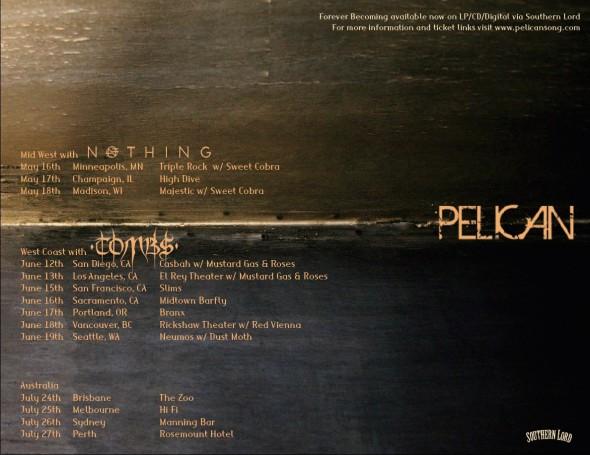 pelican band 2014 tour