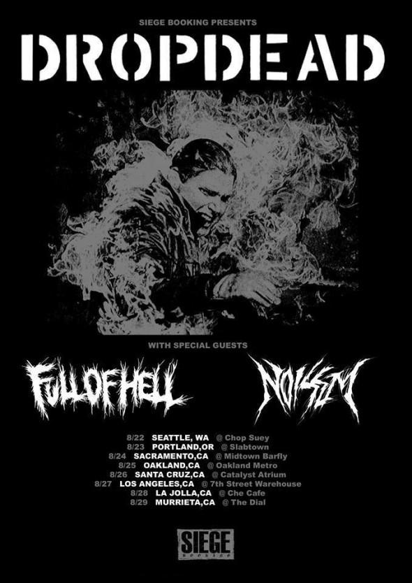 dropdead full of hell noisem tour