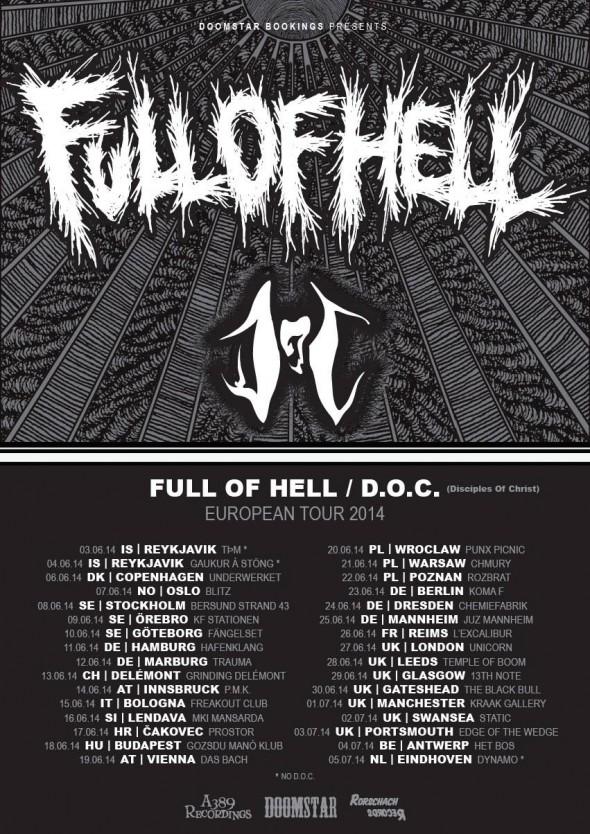 full of hell doc euro tour 2014