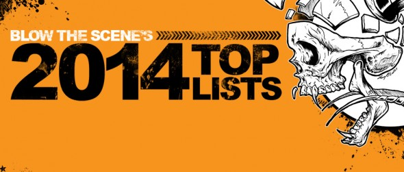 2014 album top lists