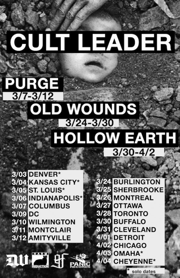 CULT LEADER US TOUR - 2015