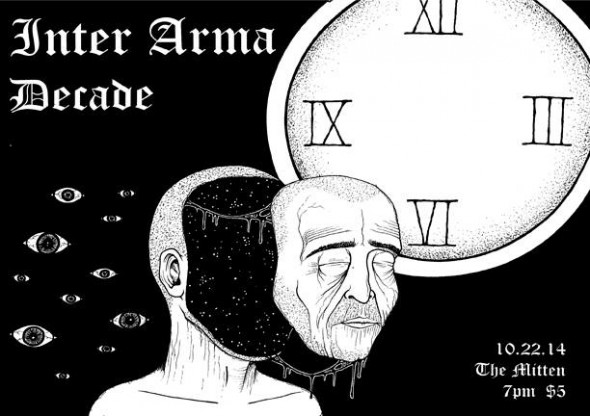 Inter Arma - Philly House Shows